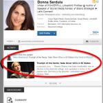 Effective lead nurturing with LinkedIn #yvlcm